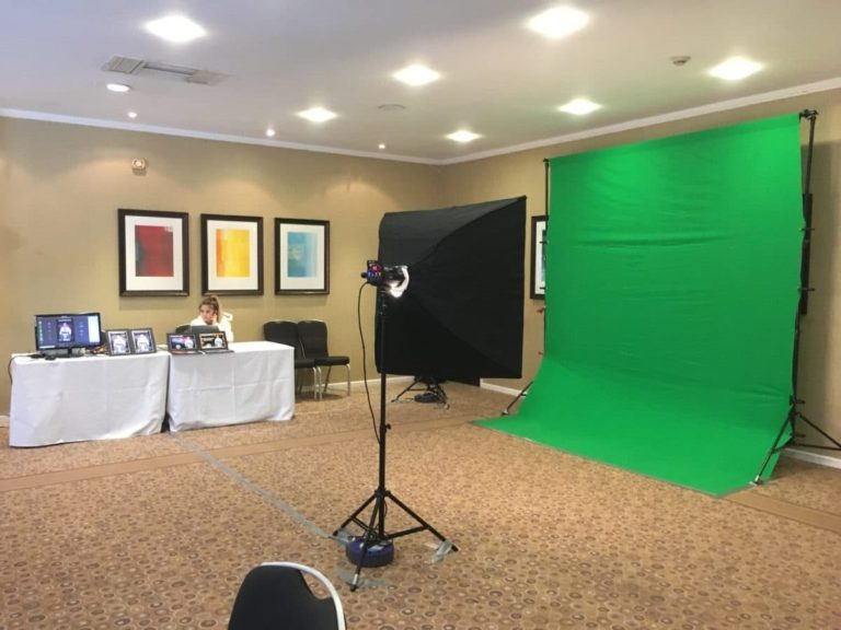 green screen photography set up london
